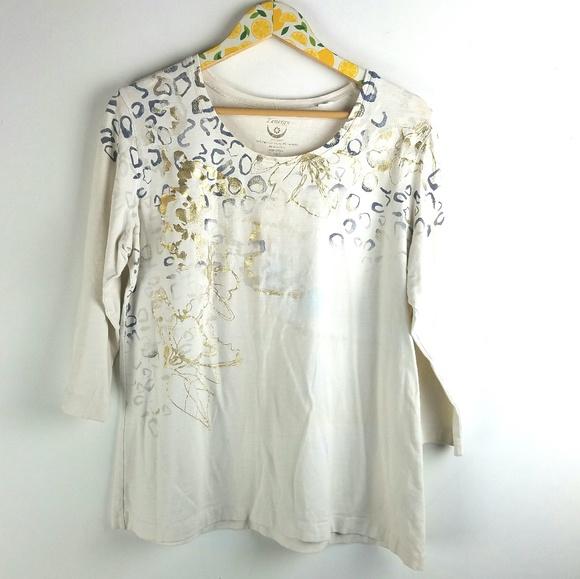 97fa985f3936 Chico's Tops | Zenergy By Chicos Knit Shirt Sz 3 Xl | Poshmark
